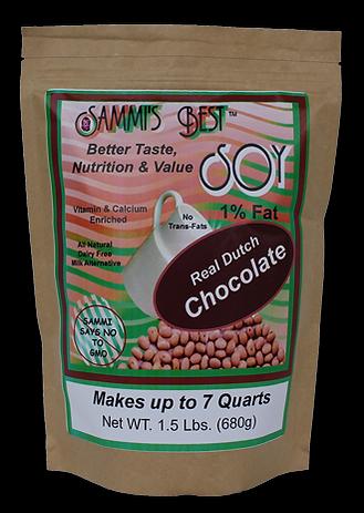 Sammi's Best Soy Dutch Chocolate Milk 1.5lb Resealable Bag