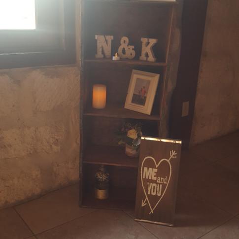 4' Crate Shelf Display