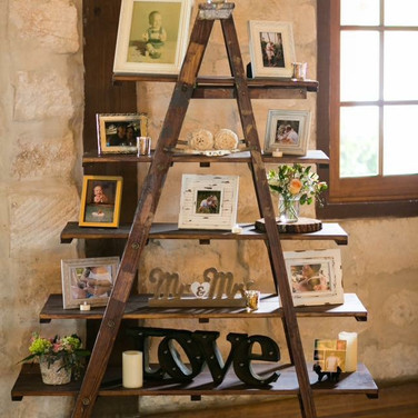 6' Ladder Shelf Display