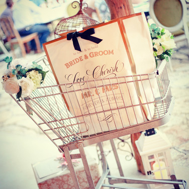 Vintage Shopping Cart
