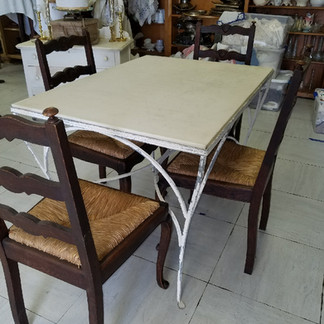 Antique Garden Table