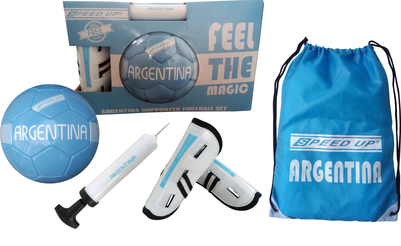 SUPORTER FOOTBALL SET ARGENTINA