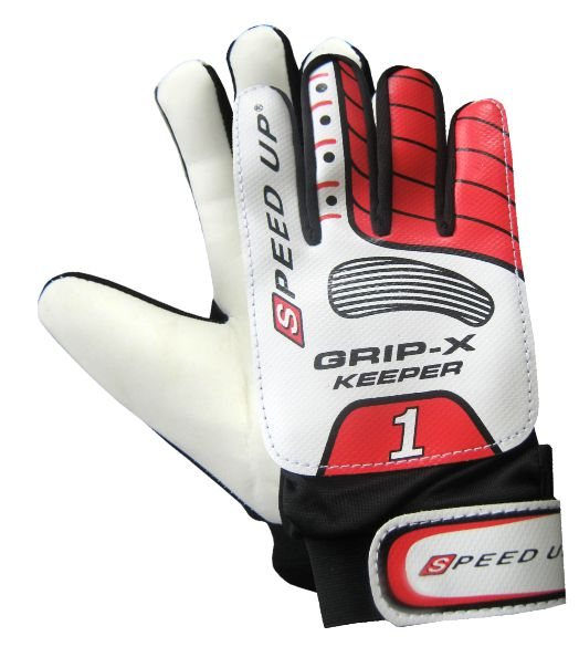 1373 FOOTBALL 6 PCS COMBO SET GOAL KEEPER GLOVES