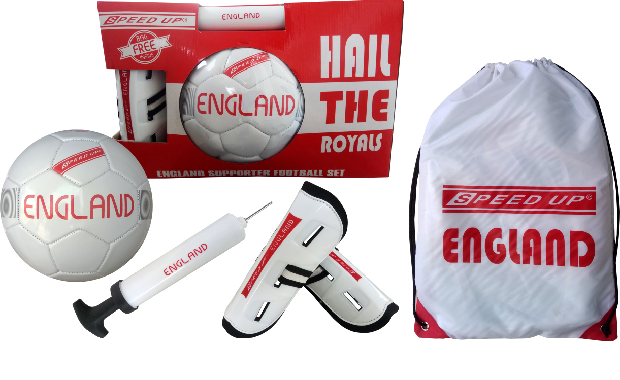 SUPORTER FOOTBALL SET ENGLAND