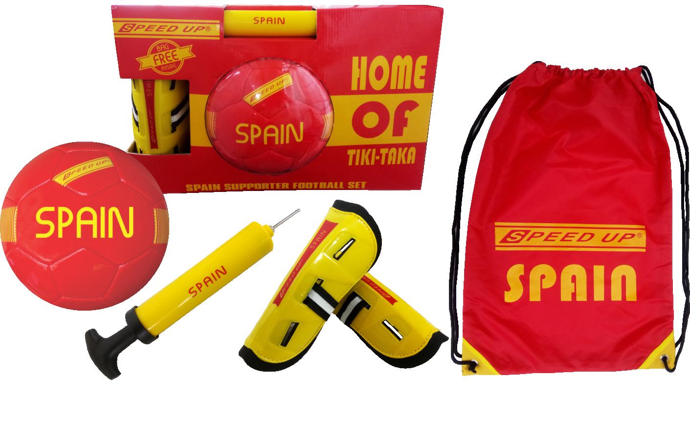 SUPORTER FOOTBALL SET SPAIN