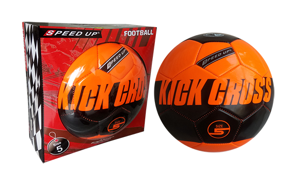 kick cross orange