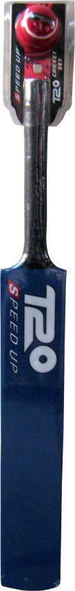2168 T20 CRICKET BAT & BALL BLUE