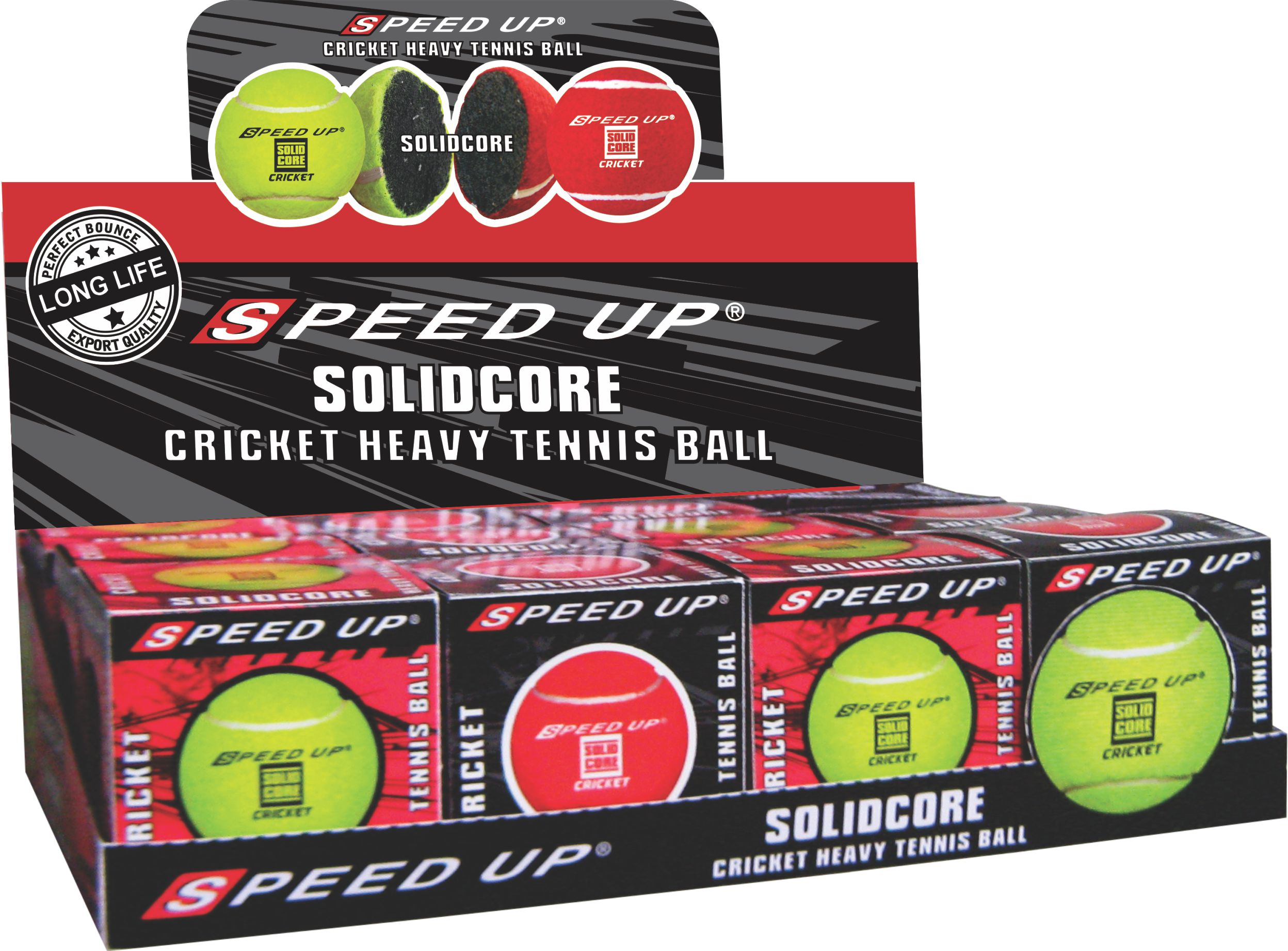 2681 TENNIS CRICKET HARD BALL BOXED