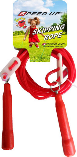 1623 SKIPPING  JUMP ROPE RED