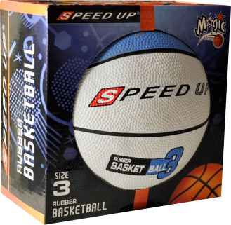 3010 RUBBER BASKETBALL SIZE 3 BLUE BOX