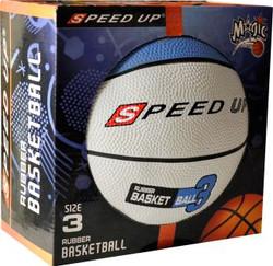 3010 RUBBER BASKETBALL SIZE 3 BLUE BOX