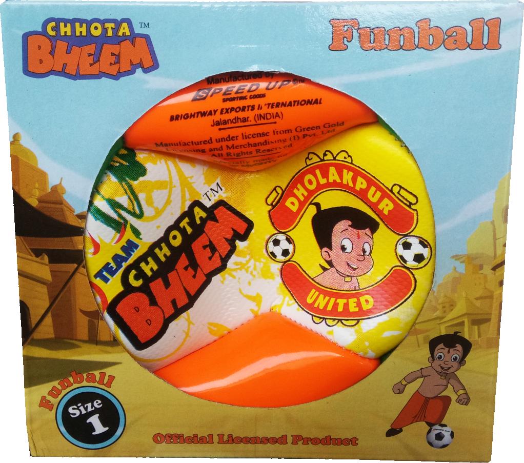CHHOTA BHEEM FOOTBALL SIZE-1 A  BOX