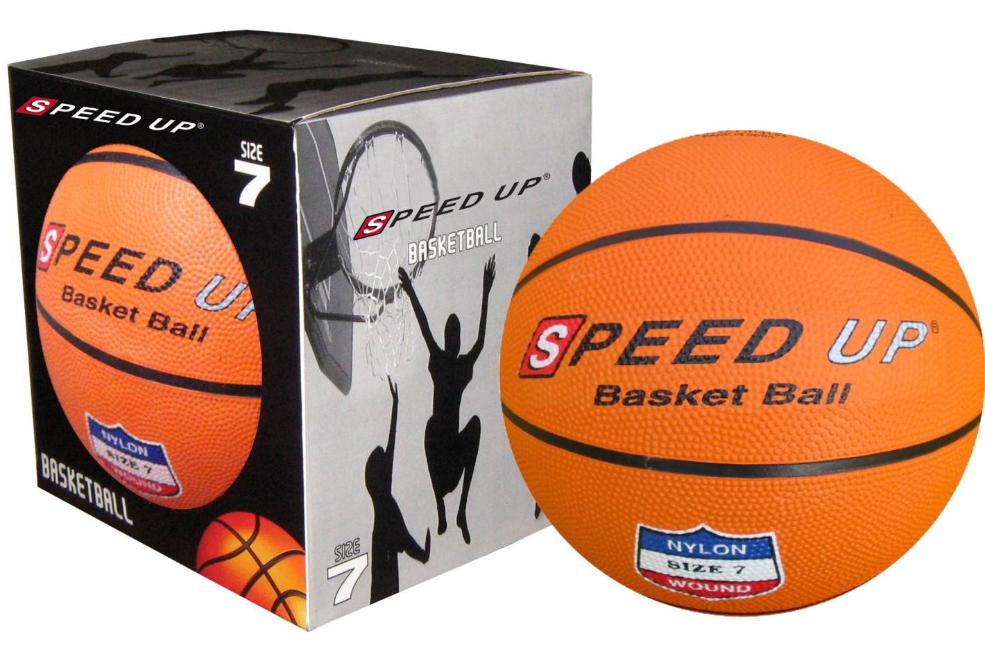 2141 RUBBER BASKET BALL SIZE-7