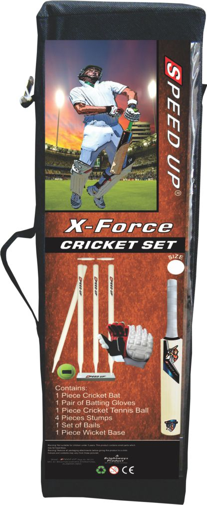 1960 CRICKET SET X-FORCE BOX