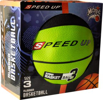 3010 RUBBER BASKETBALL SIZE 3 GREEN BOX