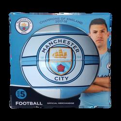 MANCHESTER CITY CREST FOOTBALL BOX