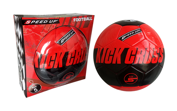 kick cross red