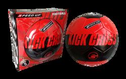 kick cross red