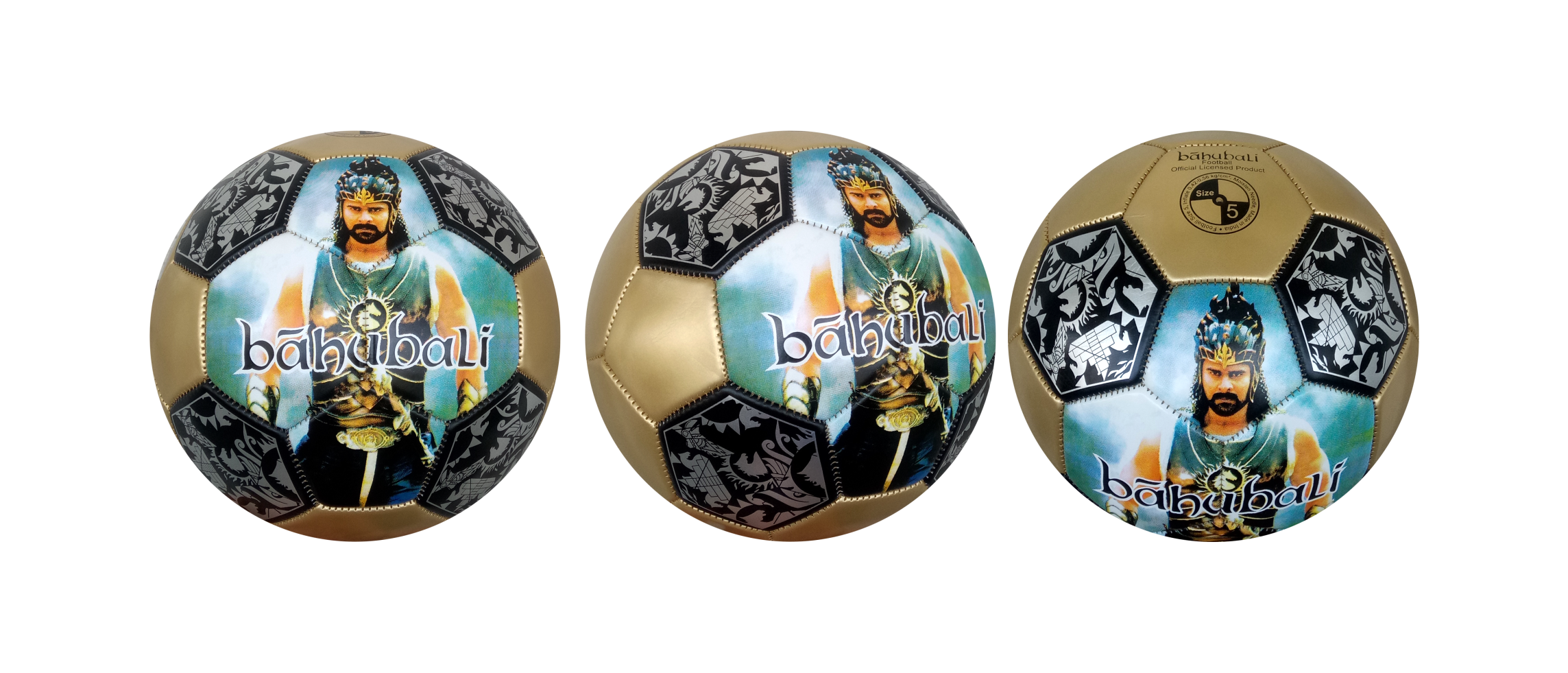 BAHUBALI FOOTBALL SIZE-5