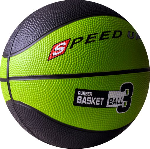 3010 RUBBER BASKETBALL SIZE 3 GREEN