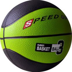 3010 RUBBER BASKETBALL SIZE 3 GREEN