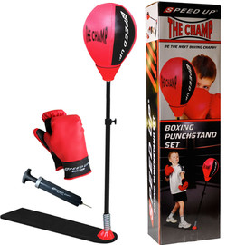 1343 BOXING PUNCHSTAND SET