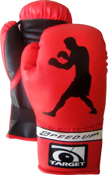2841 JUNIOR BOXING GLOVES RED