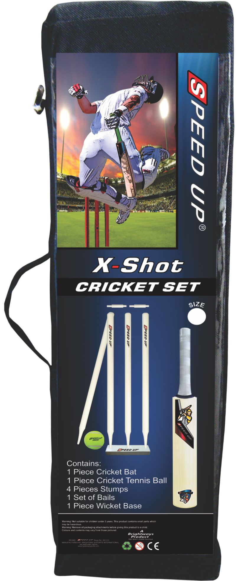 1959 CRICKET SET X-SHOT BOX