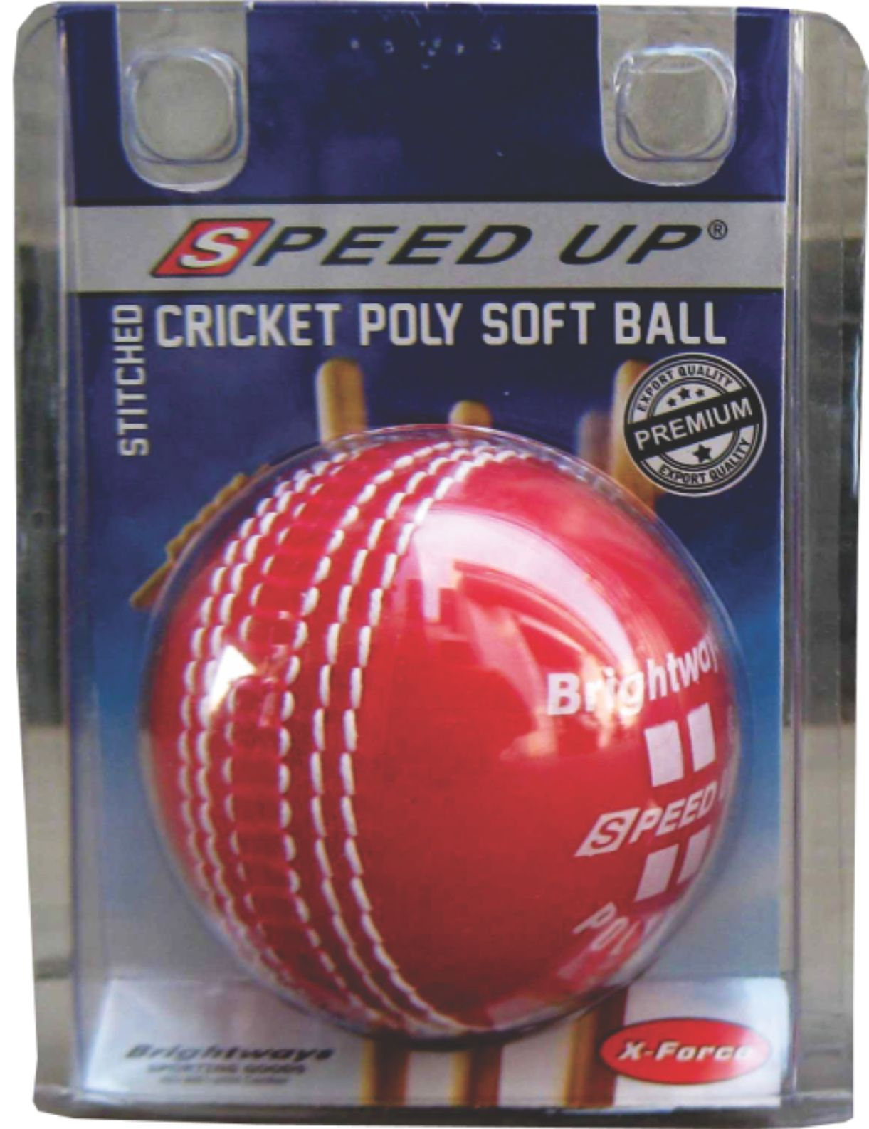 2138 POLY SOFT CRICKET BALL BLISTER PACK