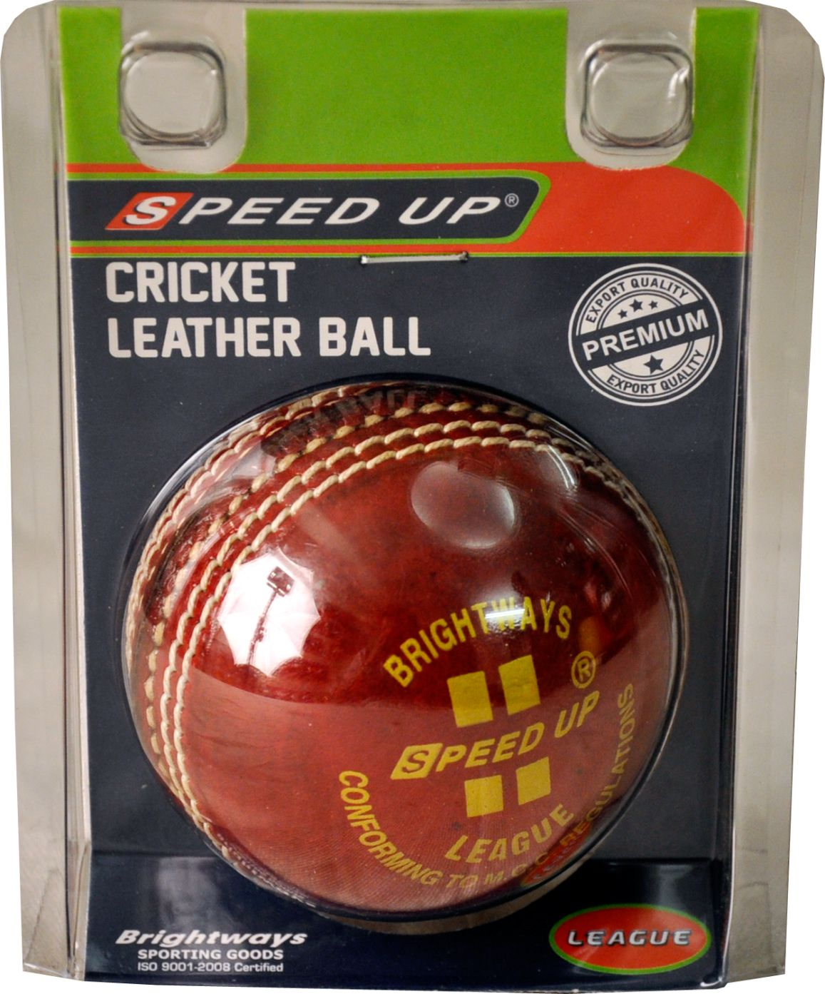 1351 LEATHER CRICKET SEASON BALL BLISTER PACK