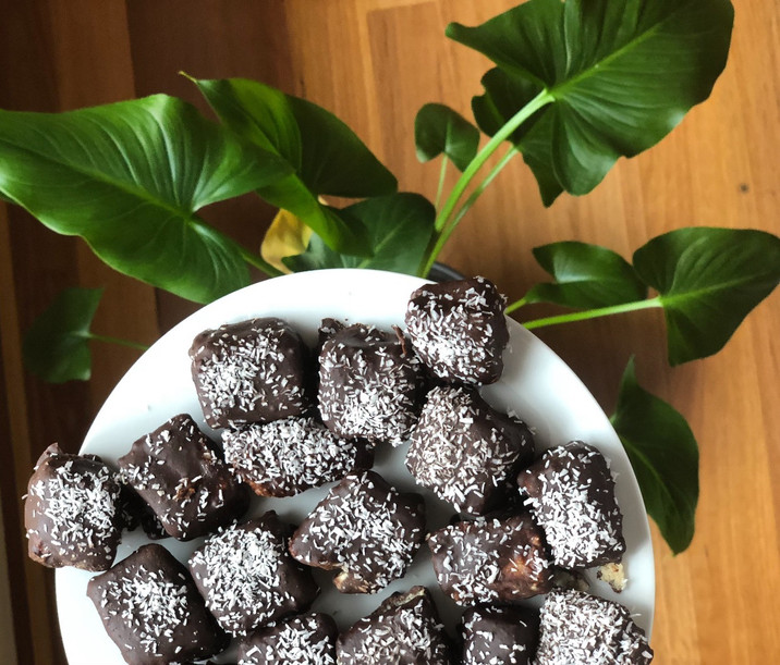 Raw Lamington Bites Recipe