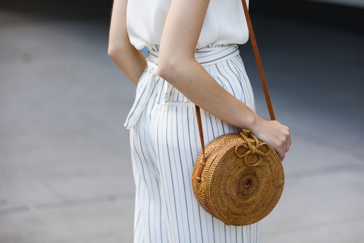 White with a Pinstripe Lookbook