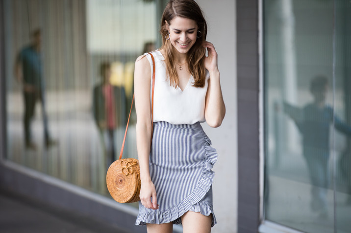 Ruffle Skirt Lookbook