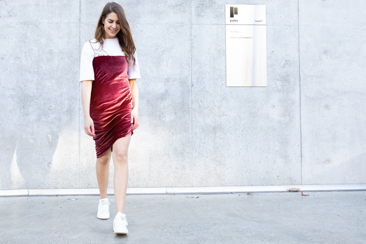 Velvet Dress Lookbook