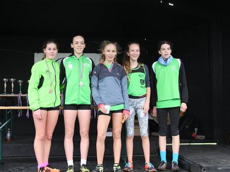 3 athlètes minimes au France UNSS de cross !