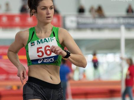 Servane, qualifiée au championnat de France Elite à Miramas