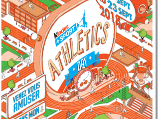 "Olympiade de rentrée ""Kinder Sport Athletics Day"""