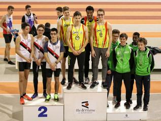 6 titres aux championnats départementaux en salle