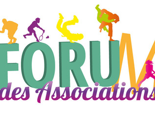 Forum des associations : les dates