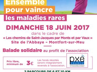 Ballade solidaire le 18 juin en partenariat avec Groupama