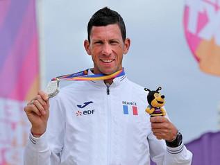 Médaille d'argent pour Louis sur 1500m