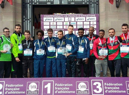 EAPB : vice champion de France sur semi marathon