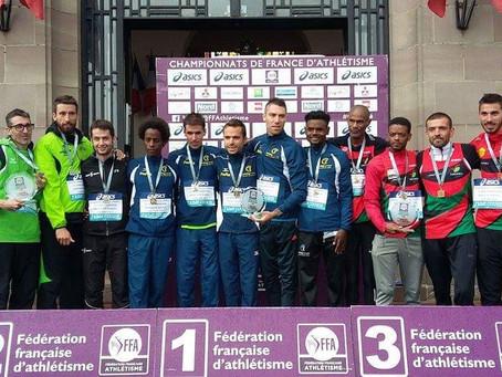 EAPB : vice champion de France sur semi marathon