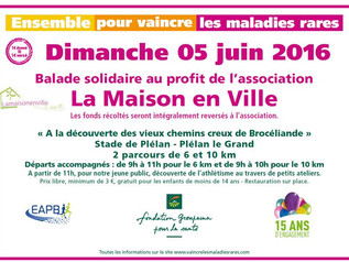 Balade solidaire le 5 juin
