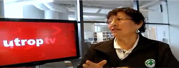 Erlinda Munoz jobber for integrering og