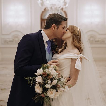 A small wedding is still a wedding...