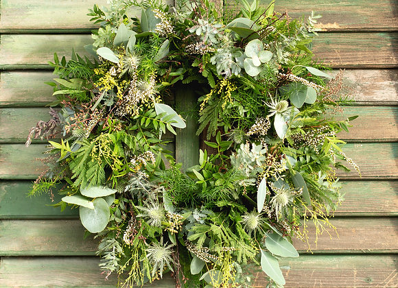 Green and Pleasant Wreath