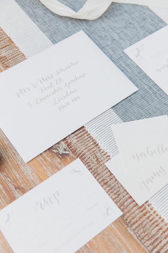 Maxeen Kim Photography - White & Grey Wedding Inspiration Stationery-58