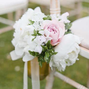 Pennyhill Park outdoor summer wedding - Anushe Lowl