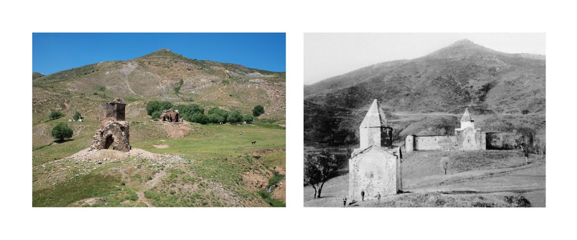Saint Aralelots, near Bitlis, c. 1900 & 2017